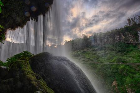 <黄果树瀑布-天星桥-陡坡塘汽车1日游>含环保车 亚洲瀑布,纯玩路线,铁定发团,西游记取景点