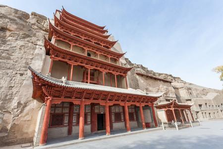 <甘肃敦煌-莫高窟-敦煌博物馆双飞5日游>上海始发,直达敦煌,虹桥往返,含免费10KG托运和7KG手提,每团封顶20人