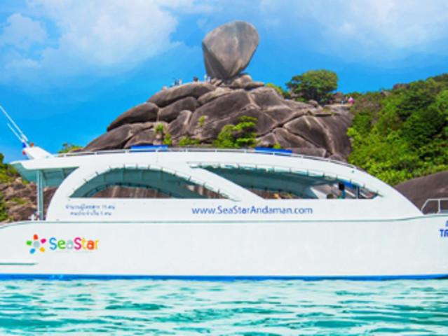<【斯米兰一日游Similan】>普吉出发,含上岛费含餐食,中文导游更贴心,多家品质船公司可选