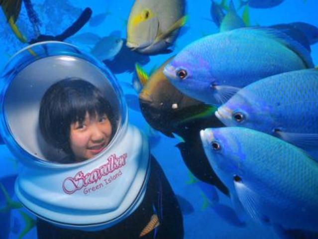 <玩透旅游 马来西亚沙巴仙本那海底漫步之旅 >自带相机,专人免费拍照