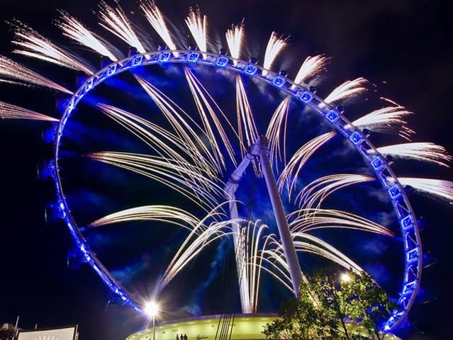 <Singapore Flyer新加坡观景摩天轮>(必去景点)