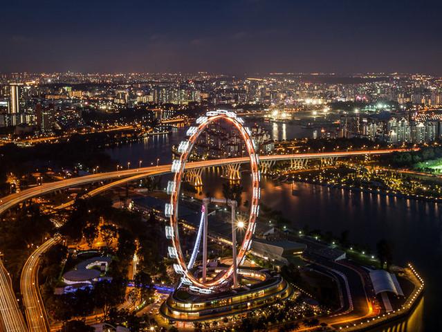 <Singapore Flyer新加坡观景摩天轮>(必去景点 浪漫时光 可定当日 及时出票)