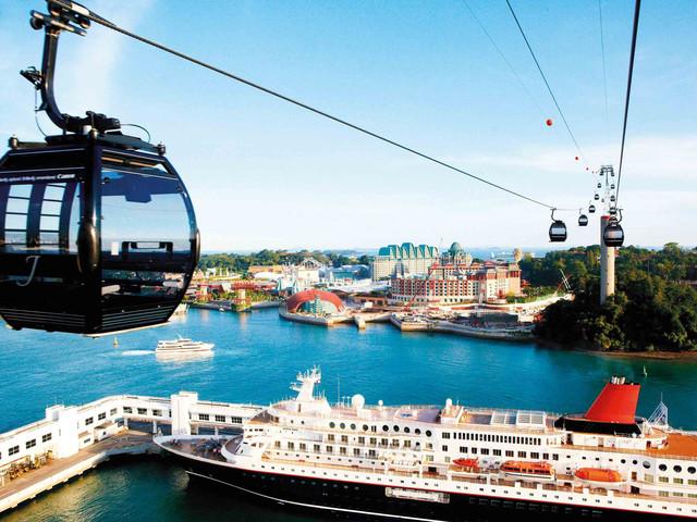 <新加坡花芭山缆车>含花芭山线 圣淘沙线单程往返 含入岛费