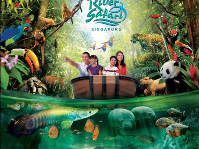 <新加坡河川生态园门票>(含2个游船+今日可订 )