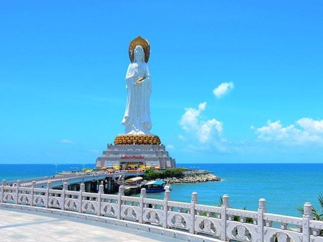 <三亚南山文化旅游区一日游>祈福之旅、感受佛教文化观108米海上观音