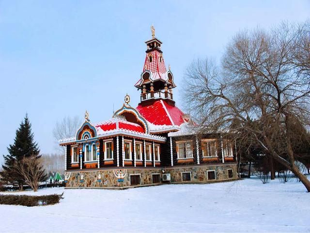 <哈尔滨伏尔加庄园>哈尔滨景区门票  哈尔滨旅游