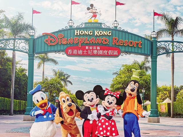<【港珠澳大桥】珠海出发 香港迪士尼乐园+7座埃尔法市区往返接送>