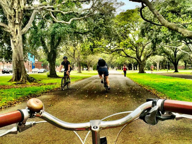 <悉尼近郊中文包車一日游>百年紀念公園+邦迪海灘+屈臣氏灣+南角