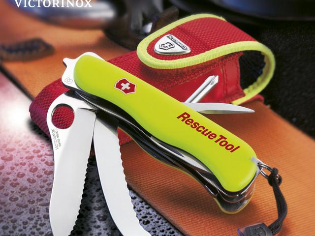 <维氏(VICTORINOX)军刀>原装进口维氏(VICTORINOX)瑞士军刀户外救援工具随车宝玻璃切割工具刀
