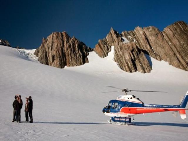 <新西兰 库克山直升机观光+高山/雪地着陆 (20-50分钟可选 格林坦纳出发)>