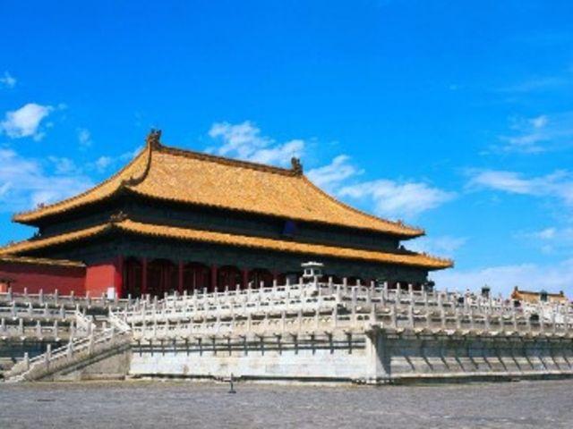 <北京八达岭长城+故宫1日游>0购物 观天安门广场 鸟巢水立方外景 可选五环内接