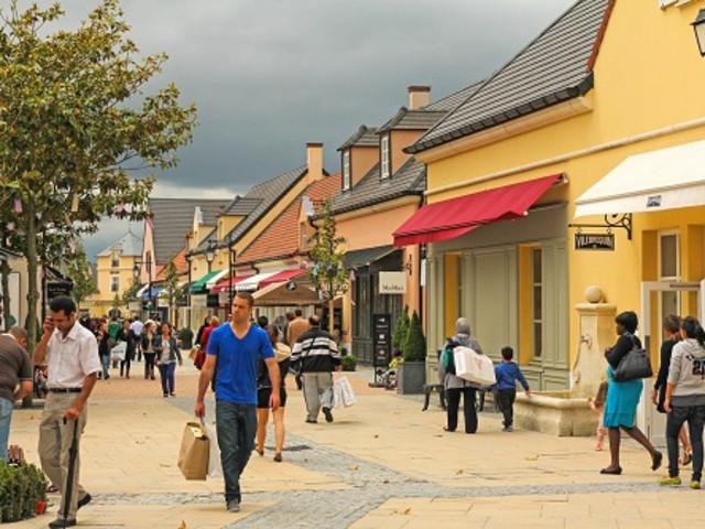 法国La Vallee购物城