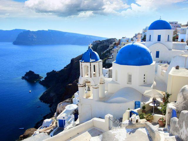 <希臘8日游>太陽的后裔拍攝地雅典集散、扎金索斯島、雅典深度游、圣托里尼OIA(雅典當地參團)