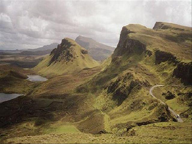 <蘇格蘭高地天空島2晚3日線路-當地散拼團游>送愛丁堡市區游, 愛丁堡格拉斯哥出發(當地游)